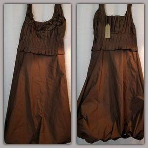 NWT Max Studio Special Edition Mocha Dress 0